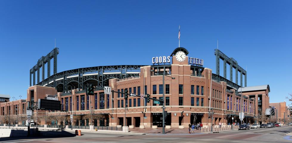 Coors Field in Denver, Colorado (Courtesy of City Of Grand Rapids)