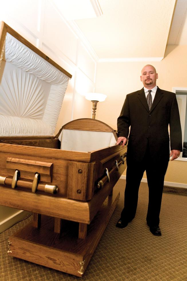 Joseph Murray, owner-manage, Truckee-Tahoe Mortuary in Truckee